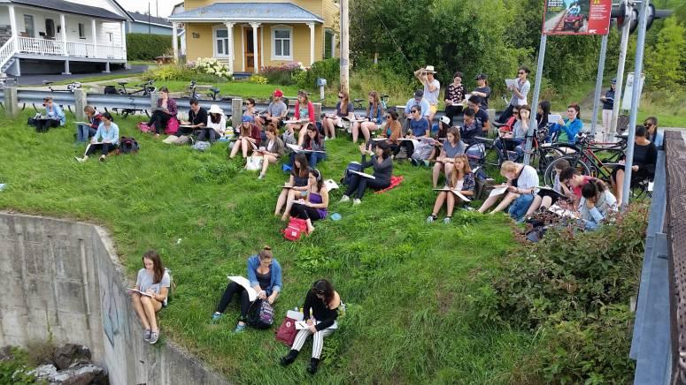 Une semaine baie saint paul de l 39 cole d 39 architecture for Cours d architecture en ligne